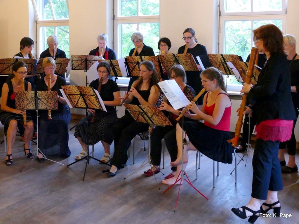 Erlanger Blockflötenorchester Ltg. Anne Pape