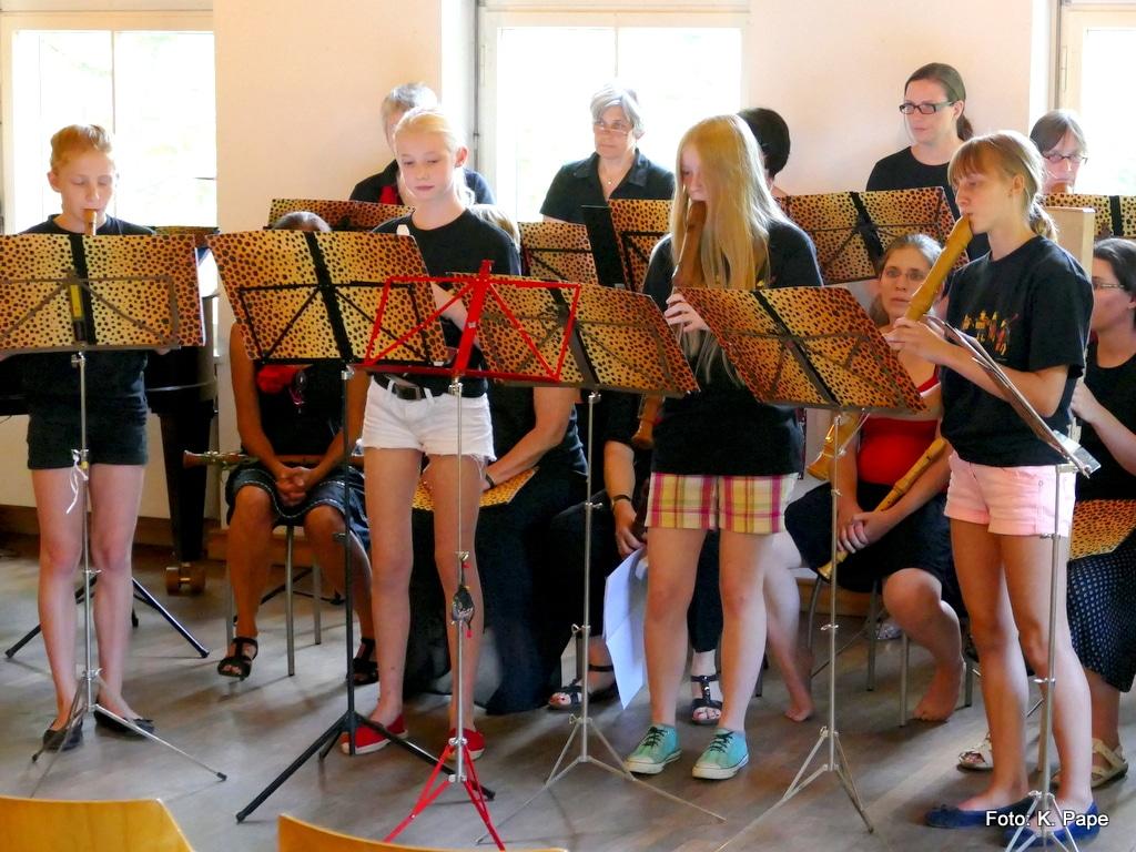 Blockflötenensemble, Blockflötenunterricht MusiCeum