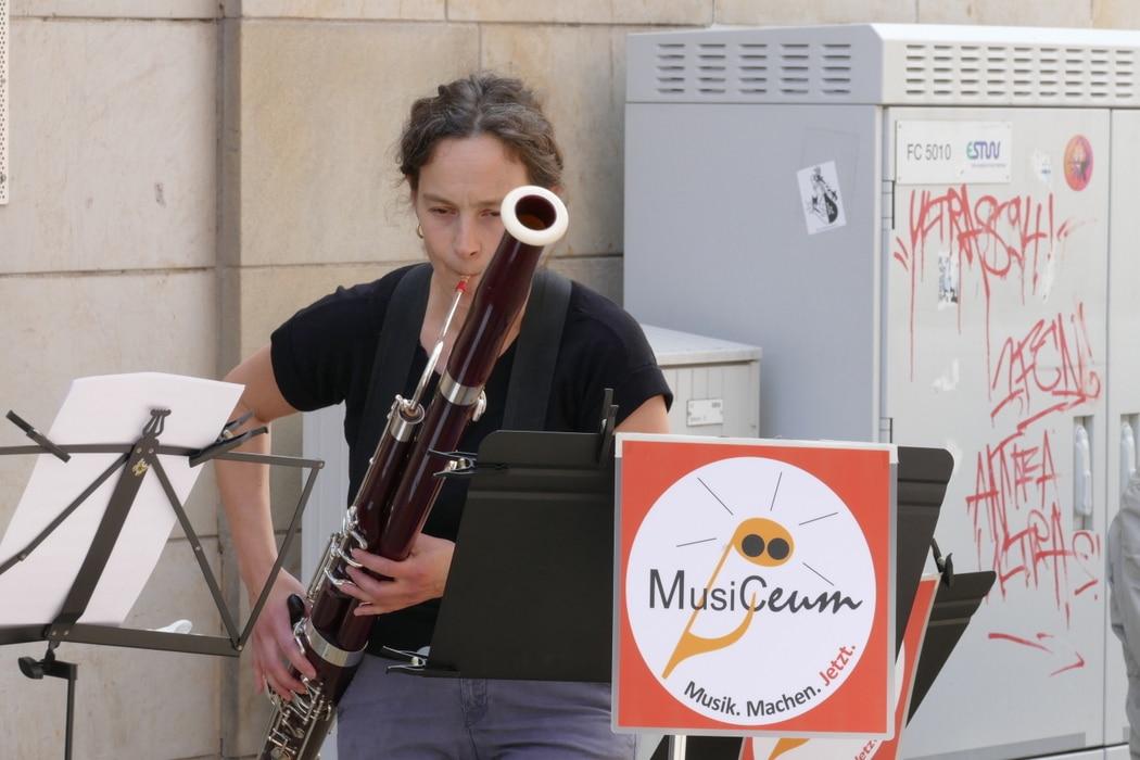 Fagottunterricht im MusiCeum