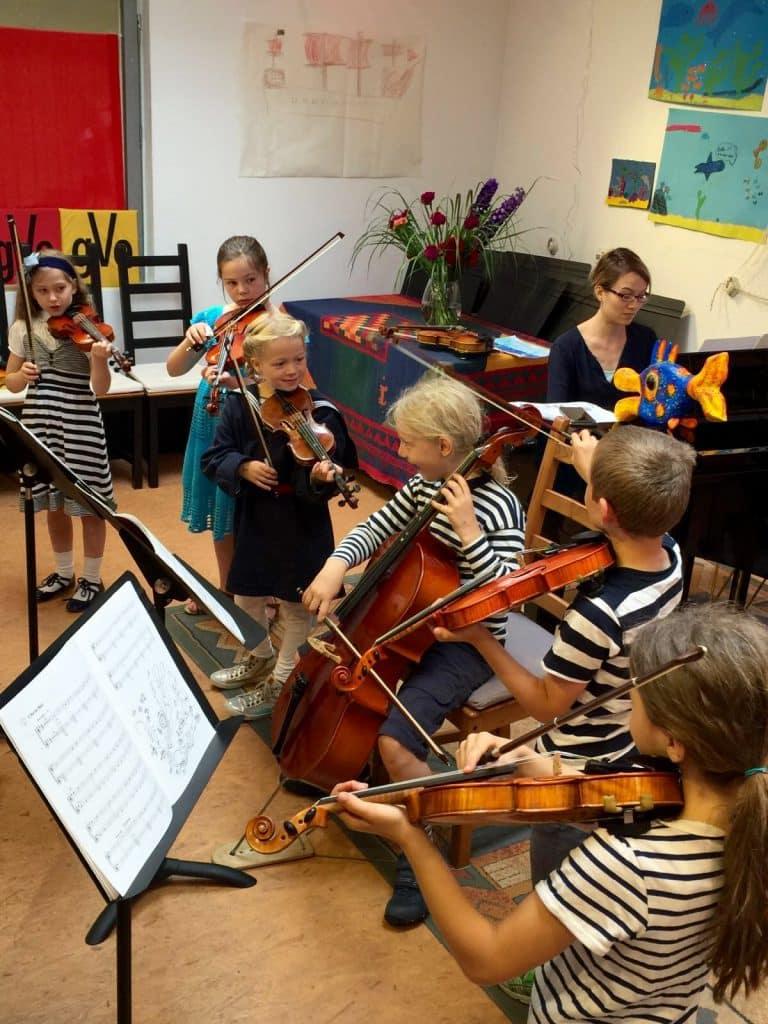 Kinderorchester 2016 MusiCeum Violine Geige