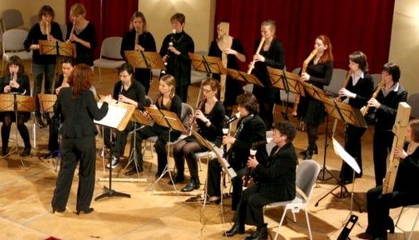 Blockflötenorchester Erlangen im Konzert