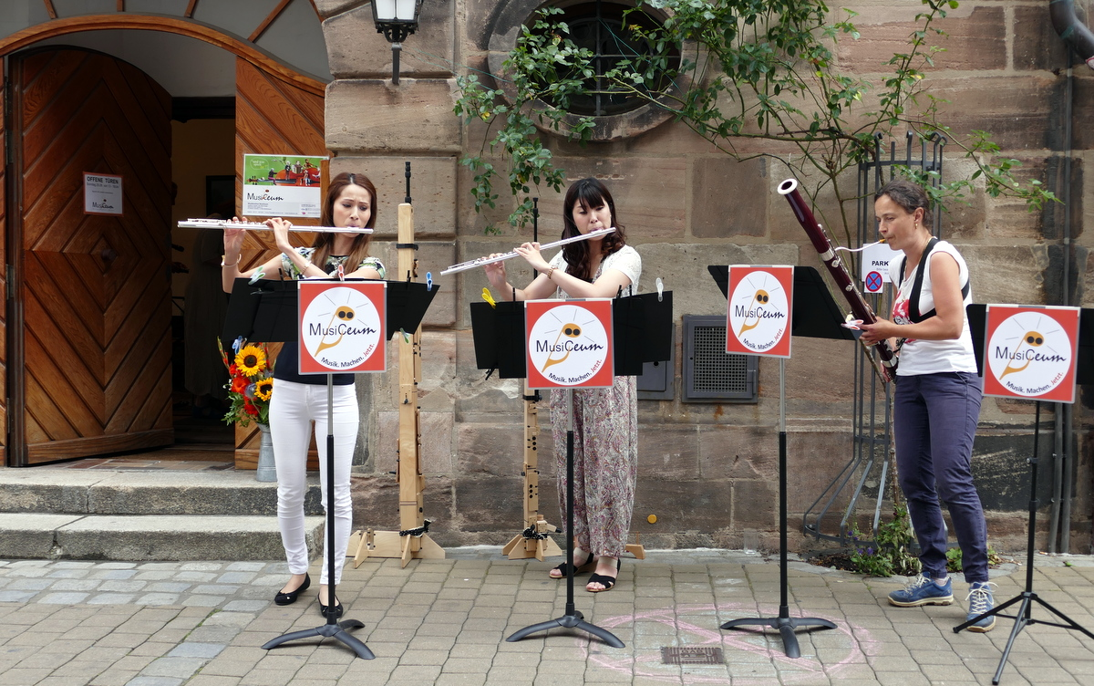 Offene Tür MusiCeum 2017 Y. Morita, Sayuri Hattori, Angelica Zingerle