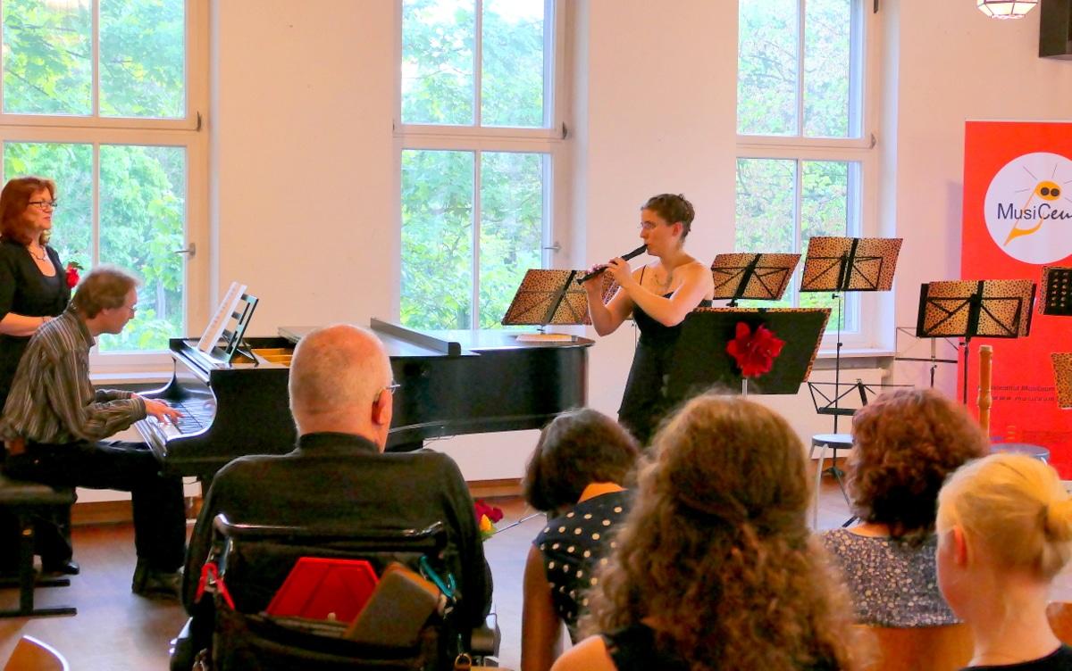 Virtuoses Konzert auf der Sopranflöte