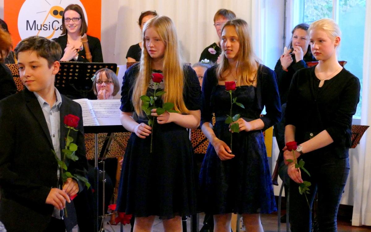 Musikschülerinnen MusiCeum