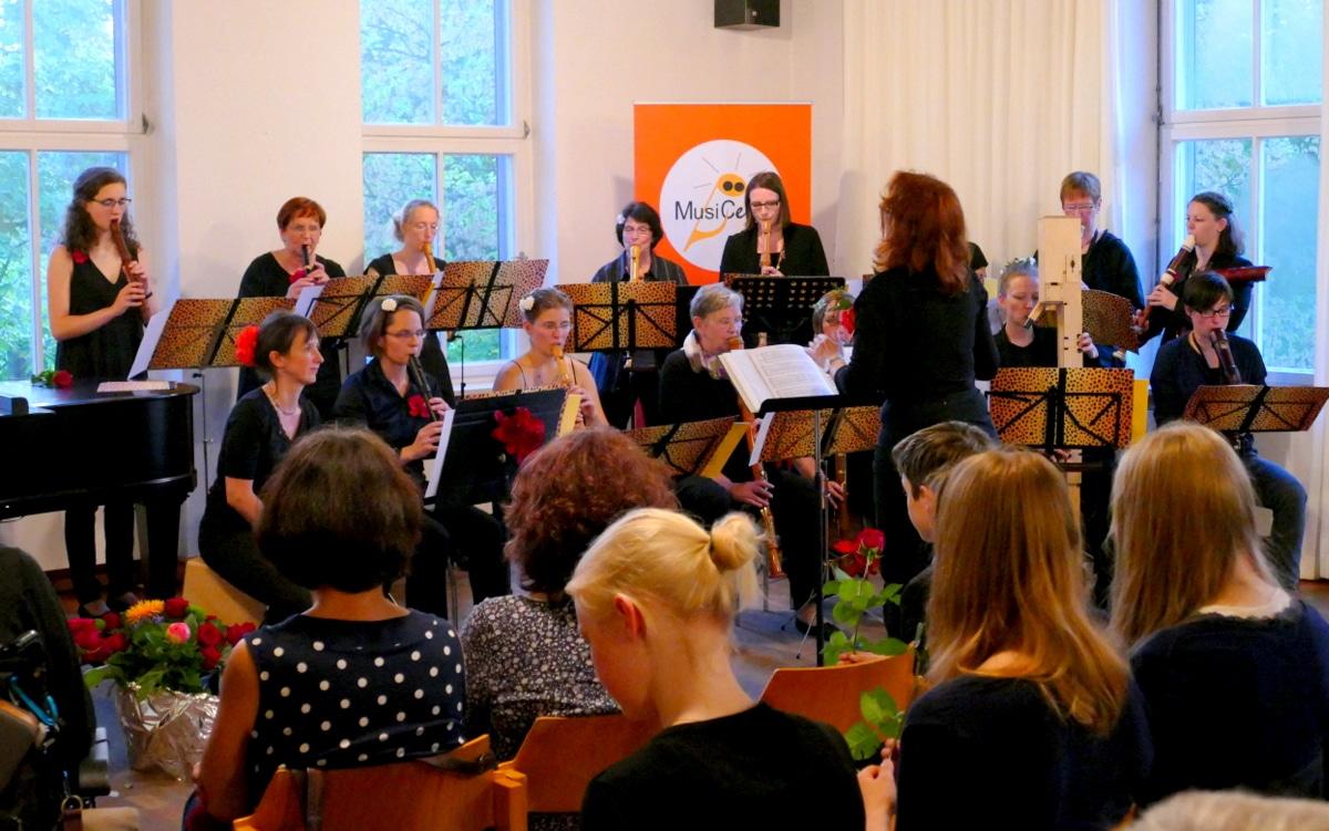 Erlanger Blockflötenorchester EBO Ltg. Anne Pape